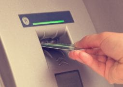 Money withdrawal on the ATM