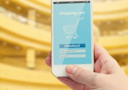 mobile shopping concept