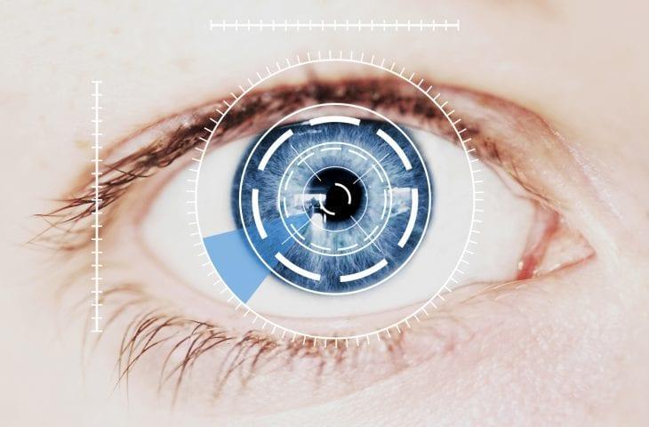 Biometrics Eye Scan