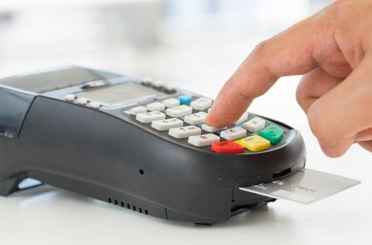 Credit card payment, EMV