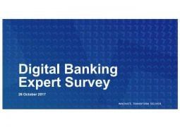 Digital Banking Expert Survey cover