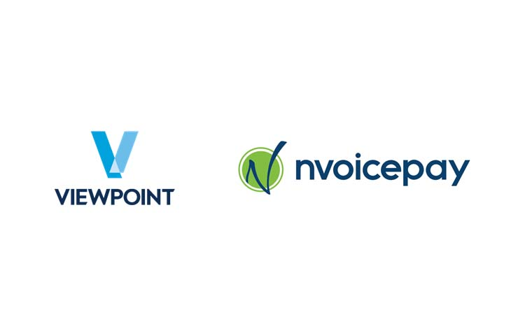 nvoicepay and Viewpoint logo