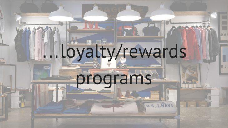 loyaltyrewards programs