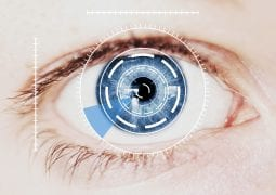 Biometrics Eye Scan