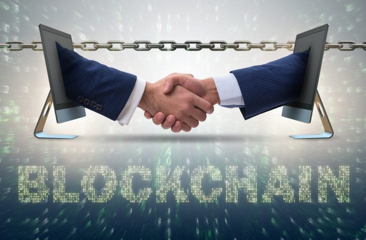 Concept of blockchain in modern business