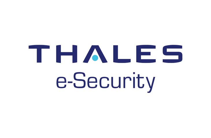 Thales e-security logo